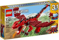 "LEGO Creator ""Огнедышащий дракон"" (змея/скорпион)"