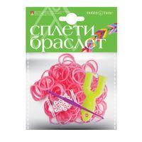 """Набор для плетения из резиночек """"Розовый"""" (1000 шт.)"""