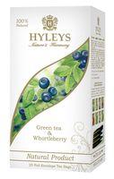 """Чай зеленый """"Hyleys. Гармония природы"""" (25 пакетиков; с черникой)"""