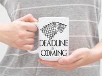 "Кружка ""Deadline"""