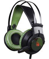 Гарнитура A4Tech Bloody J450 (черно-зеленая)
