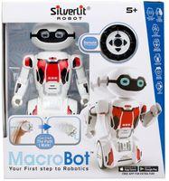 """Робот на радиоуправлении """"MacroBot"""" (красный; со световыми и звуковыми эффектами)"""