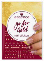 "Наклейки для дизайна ногтей ""Nail stickers"" тон: go for gold"