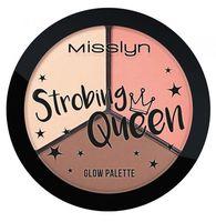 "Палетка хайлайтеров для лица ""Strobing Queen Glow Palette"""