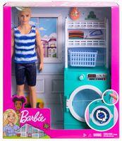 """Игровой набор """"Барби. Кен в прачечной"""""""