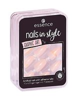 "Накладные ногти ""Nails in Style 09. Graphic Art"" (12 шт.)"