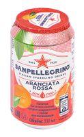 """Напиток газированный """"S. Pellegrino. Красный апельсин"""" (330 мл)"""