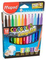 """Набор фломастеров цветных """"Color Peps"""" (12 цветов; арт. 845020LM)"""