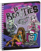 """Тетрадь в клетку """"Monster High"""" 48 листов"""