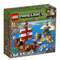 "LEGO Minecraft ""Приключения на пиратском корабле"""