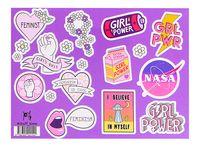 "Набор наклеек №154 ""Girls power"""