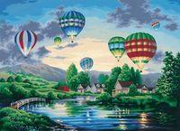 "Картина по номерам ""Парад шаров"" (410х510 мм; арт. DMS-91243)"