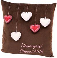"Подушка ""Choco. Сердечки"""