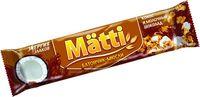 """Батончик глазированный """"Matti. Кокос и молочный шоколад"""" (24 г)"""