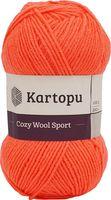 """Пряжа """"KARTOPU. Cozy Wool Sport №K1212"""" (100 г; 280 м; терракот)"""