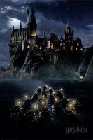 "Постер ""Harry Potter. Hogwarts Boats"""
