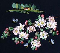 """Набор для вышивания """"Яблоневый цвет"""""""