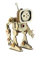 """Сборная деревянная модель """"Робот Флеш"""""""