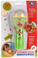 """Музыкальная игрушка """"Микрофон"""" (со световыми эффектами; арт. B1252960-R8 (192))"""