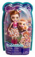 "Кукла ""Enchantimals. Кейли Коровка и Курдли"""