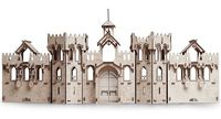 """Сборная деревянная модель """"Большой рыцарский замок"""""""