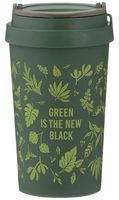 """Эко-стакан """"Green is the New Black"""""""