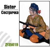 """Миниатюра """"Сестричка"""" (масштаб: 1/35)"""