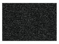 """Фольга для декорирования ткани """"Черный"""" (90х160 мм)"""