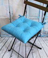 """Подушка на стул """"Velours"""" (42х42 см; светло-голубая)"""