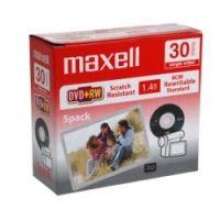 Диск DVD+RW 8см 1.46Gb 2x Maxell slim (отгружается по 5 штук)
