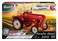"Сборная модель ""Трактор Porsche Diesel Junior 108"" (масштаб: 1/24)"
