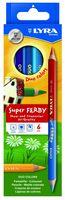 """Набор карандашей цветных """"Super Ferby Duo Bicolor"""" (6 шт.; 12 цветов)"""