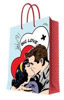 """Пакет бумажный подарочный """"О любви"""" (26x32,4x12,7 см; арт. 35960)"""