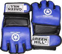 """Перчатки для MMA """"Combat Sambo"""" MMR-0027CS (L; синие)"""
