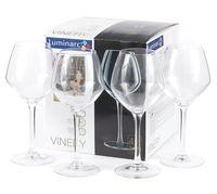 "Бокал для вина стеклянный ""Vinery"" (4 шт.; 350 мл)"