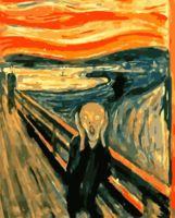 """Картина по номерам """"Эдвард Мунк. Крик"""" (400х500 мм)"""