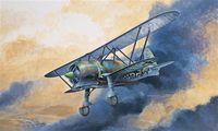 """Истребитель """"CR.42 Luftwaffe"""" (масштаб: 1/48)"""