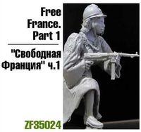 "Миниатюра ""Свободная Франция ч.1"" (масштаб: 1/35)"