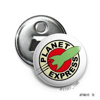 "Открывалка-магнит ""Футурама. Планетарный экспресс"" (арт. 078)"