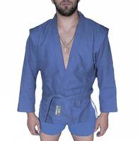 Куртка для самбо AX5 (р. 56; синяя; без подкладки)