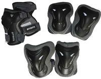 Комплект роликовой защиты ASGK-02 (XS; чёрный)