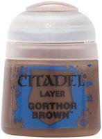 "Краска акриловая ""Citadel Layer"" (gorthor brown; 12 мл)"