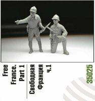 """Набор миниатюр """"Свободная Франция ч.2"""" (масштаб: 1/35)"""
