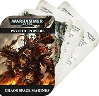 """Набор """"Warhammer 40.000: Psychic Cards: Chaos Space Marines"""""""