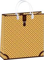 "Пакет пластиковый подарочный ""Luxury Collection"" (42х32х10 см; арт. BAL 93)"