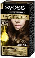 """Краска для волос """"Oleo intense"""" тон: 3-86, темный шоколад"""
