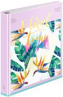 """Тетрадь со сменным блоком """"Tropical Floral"""" (160 листов)"""
