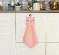 """Полотенце из микрофибры """"Кошка"""" (30х30 см)"""