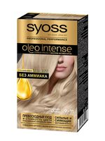 "Краска для волос ""Oleo Intense"" тон: 9-11, холодный блонд"