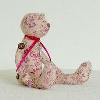 """Кукла """"Розовый мишка с ключиком"""""""